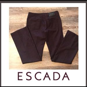 Escada pants.  German.  Size 38. (8-10)
